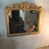 Charming old French mirror