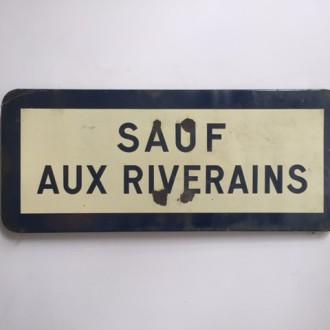 Frans straatbord