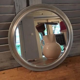 Vintage spiegel als onderzetter
