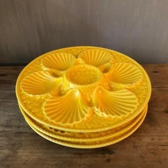 Franse vintage schaaldier borden (3) Lonchamp