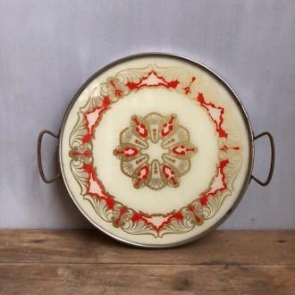 Vintage taartschaal taart plateau