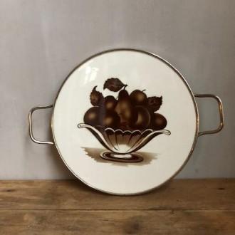 Vintage taartschaal taartplateau