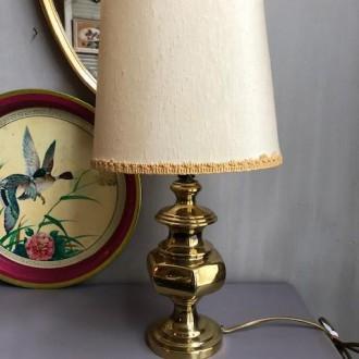 Franse tafellamp messing