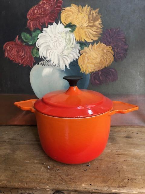 vintage casserol creuset cousance