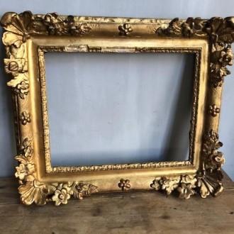 Gouden museale barokke lijst