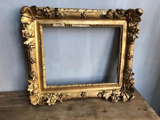 gouden schilderijlijst museale lijst barok frans