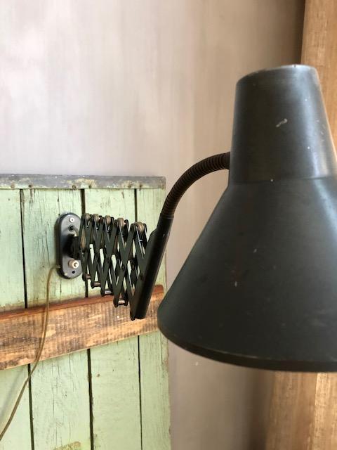 vintage schaarlamp hala