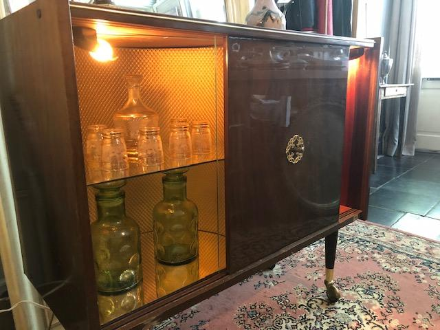 vintage drankenwagen meubel trolley