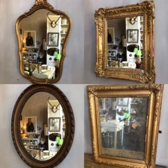Nieuwe Franse spiegels op voorraad