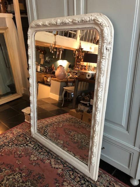 grote brocante spiegel