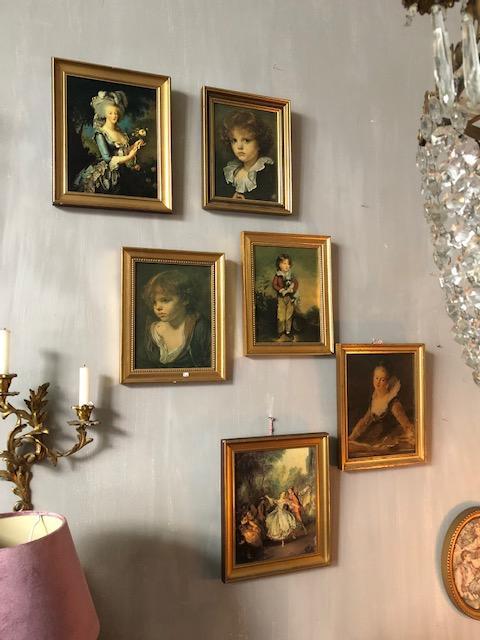 romantische franse schilderijtjes