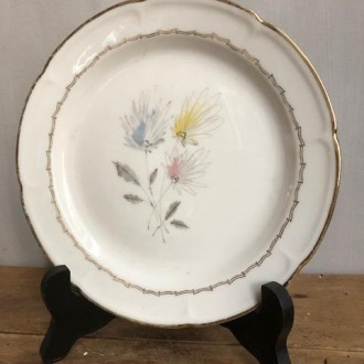 Vintage porseleinen (gebaks) bordjes (10 stuks) van Limoges