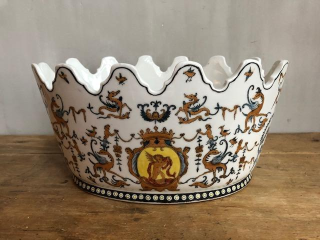 vintage schaal chateau Toussicourt