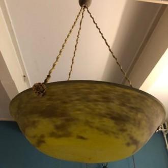 Art deco hanglamp gesigneerd