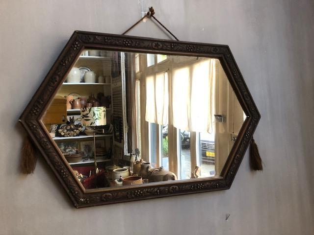 brocante franse spiegel