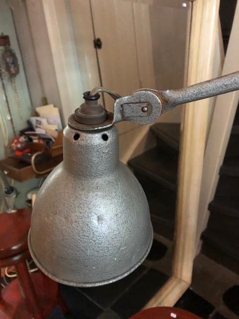 franse industriele atelier lamp