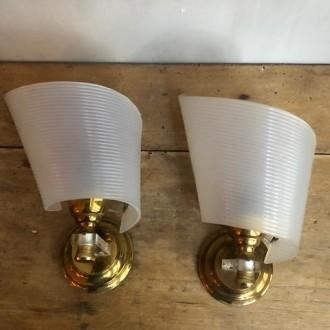 Vintage wandlampjes