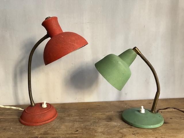 Vintage bedlampjes