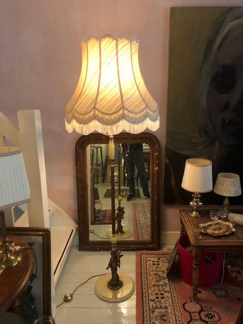 barokke vloerlamp