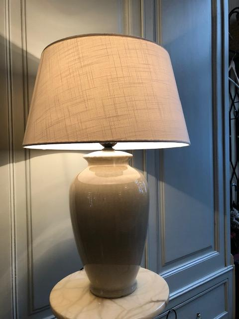 Grote keramieke vaaslamp