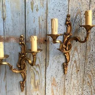 Barokke wandlampjes de luxe