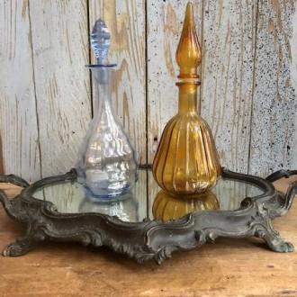Antieke Franse tafelspiegel op pootjes