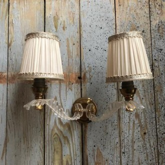Franse vintage wandlamp
