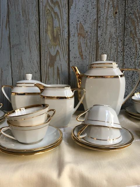Thee of koffieservies van Limoges
