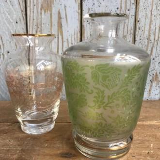 Oude Franse glazen flesjes