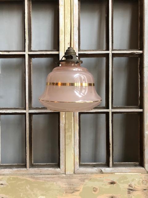 Art deco hanglampje
