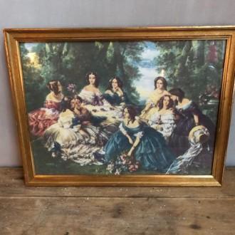 Vintage gouden lijst 43 x 33 cm