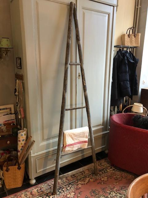 Oude Franse pluk ladder