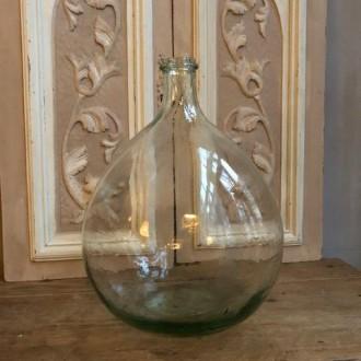Oude bolle Franse gistfles 10 liter