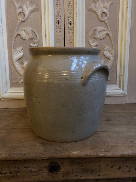 Oude Franse gres pot