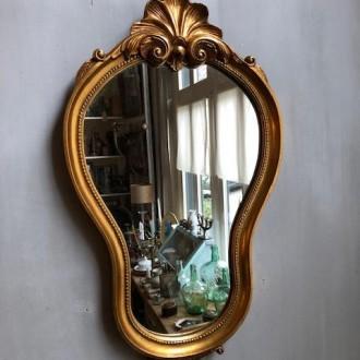 Barokke spiegel goud