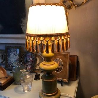 Shabby chic tafellamp