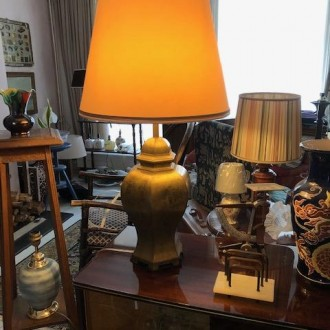 Vintage lamp Oosters XL