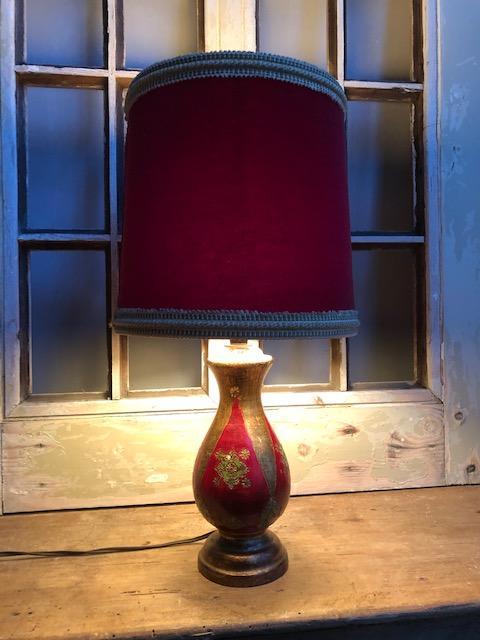 oud frans lampje