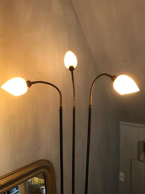 Franse vintage vloerlamp