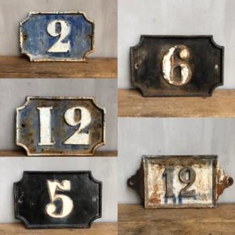 Oude Franse huisnummers