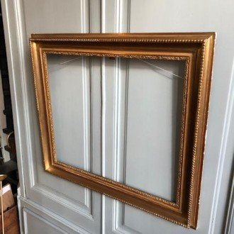 Grote klassieke Franse lijst (80,5 x 70 cm)