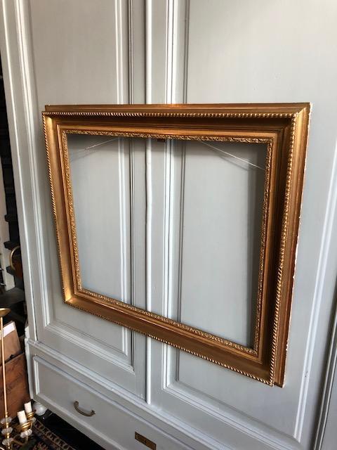 Grote oude klassieke Franse gouden lijst