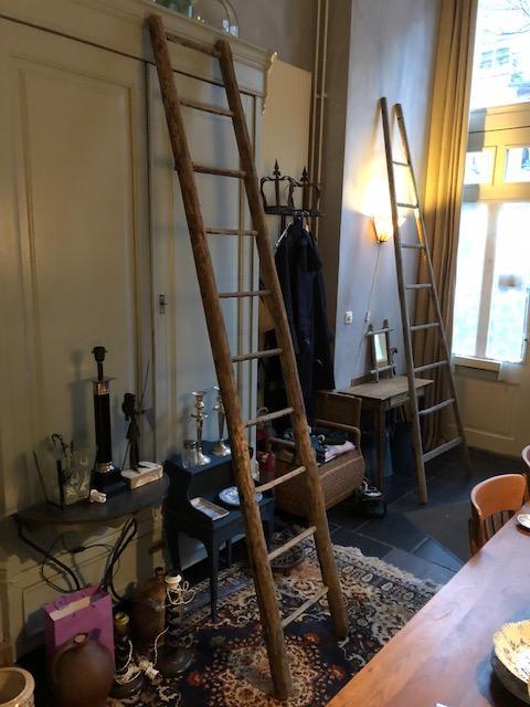Oude Franse ladder