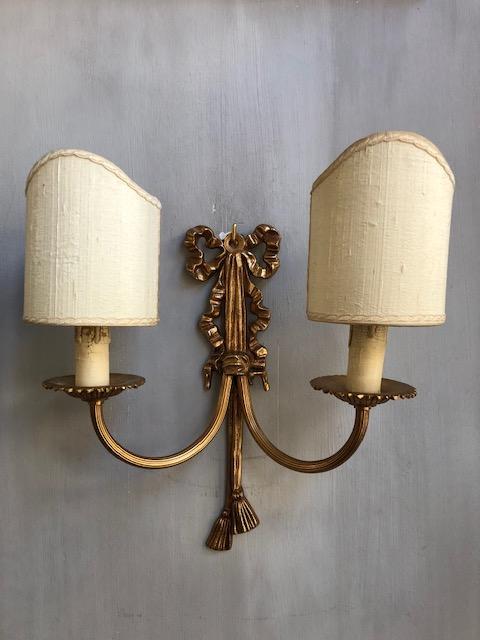 Klassieke wandlamp met strik