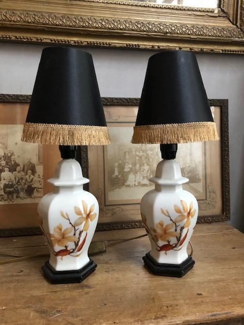 Franse tafellampjes