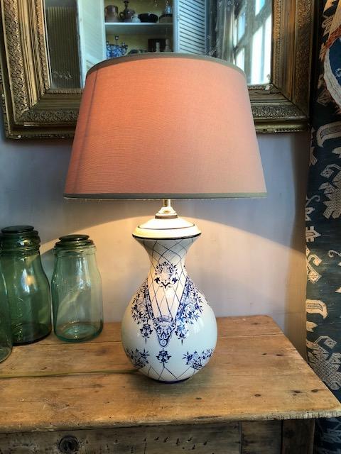 Franse brocante tafellamp
