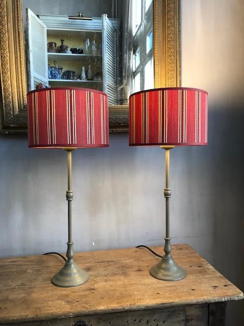 Set stijlvolle bedlampjes