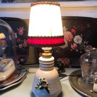 Vintage Frans tafellampje Bambie