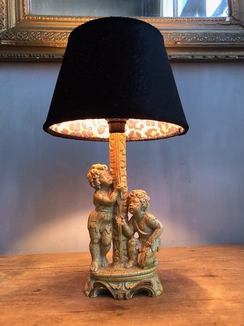 Barok tafellampje