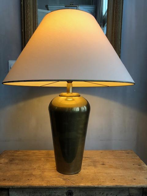 Kullmann messing vaaslamp Regency stijl